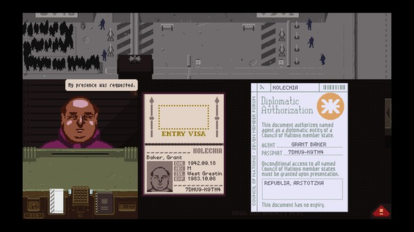 Papers,Please スクリーンショット15