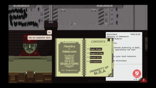 Papers,Please スクリーンショット3