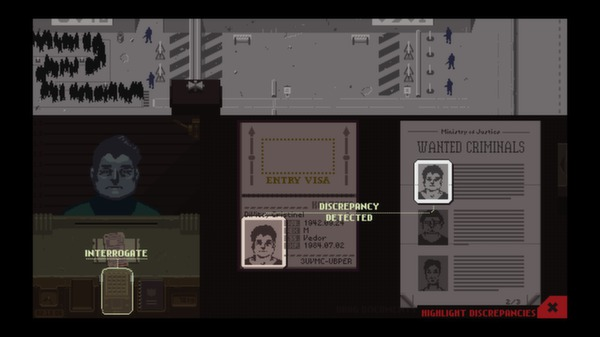 Papers,Please スクリーンショット6