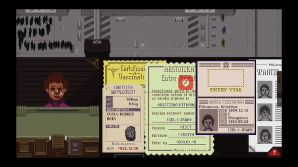 Papers,Please スクリーンショット10