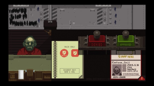 Papers,Please スクリーンショット11