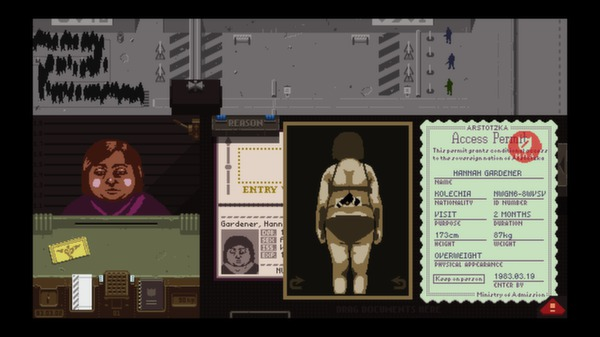 Papers,Please スクリーンショット8