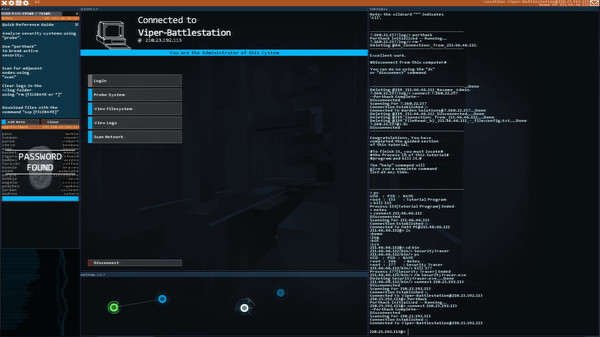Hacknet スクリーンショット1