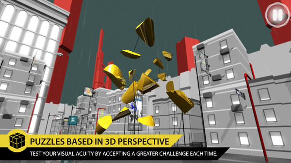PERFECTANGLE:Thepuzzlegamebasedonopticalillusions スクリーンショット3